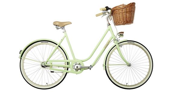 Creme Molly Naiset kaupunkipyörä , vihreä